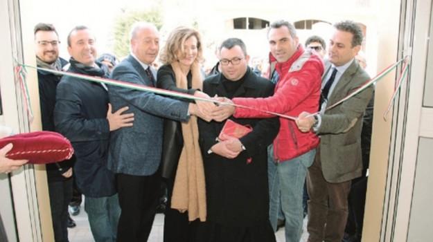 Marsala inaugurata la casa comunale di paolini giornale for Casa comunale