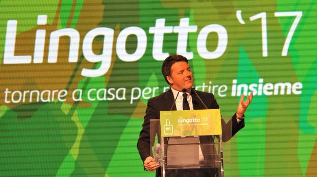 lingotto torino, segreteria pd, Matteo Renzi, Sicilia, Politica