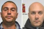 A sinistra Calogero Messina, a destra Antonino Fasolo