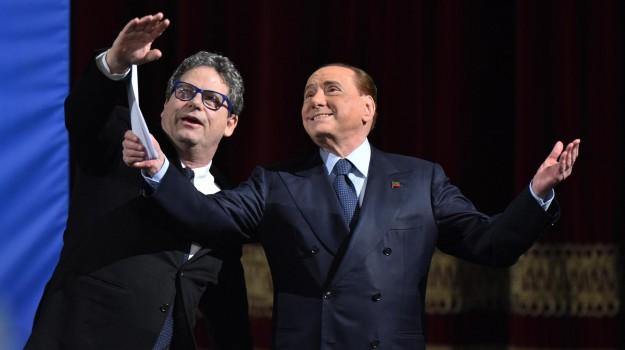 regionali sicilia 2017, Gianfranco Miccichè, Nello Musumeci, Silvio Berlusconi, Sicilia, Politica