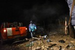"""Scoppia incendio nel """"Gran Ghetto"""" dei migranti di Rignano, appena sgomberato: due morti"""