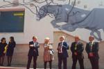 Pantelleria, un nuovo murale alle poste