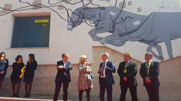 murale, Pantelleria, poste, Trapani, Cronaca