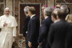 Francesco incontra i grandi d'Europa: l'Ue non sia soltanto regole e finanza