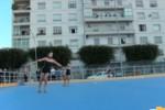 Palermo, inaugurata la pista di pattinaggio di via Mulè