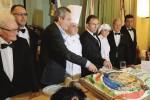 La Real Maestranza nissena festeggia il capitano col «Sabatino»