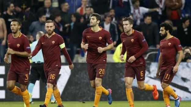 europa league, Lione, roma, Sicilia, Sport