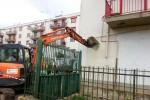 Ruspe in azione a Palma di Montechiaro: da oggi riprendono le operazioni di demolizione