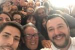 """Salvini a Lampedusa: """"E' il simbolo del fallimento dell'Ue"""""""