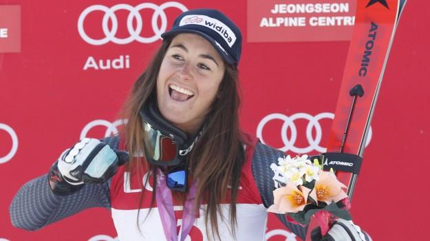campionato di Joengseon, campionato mondiale corea, sci, Sofia Goggia, Sicilia, Sport
