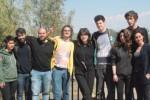 Otto studenti di Firenze conquistati dalle opere di Gibellina