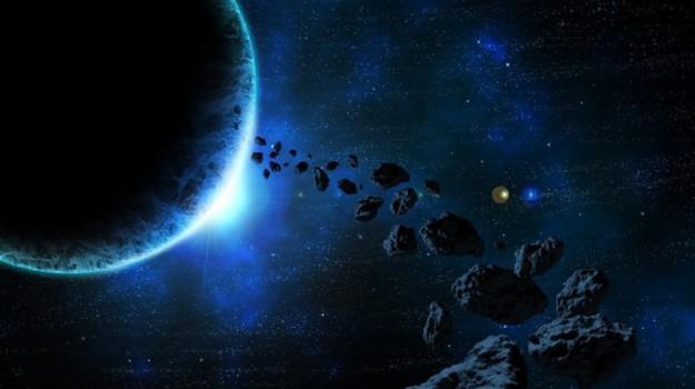 asteroide, terra, Sicilia, Società