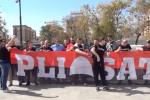 Nazionale a Palermo, festa dei tifosi albanesi al Politeama - Video