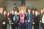 Sigillo del vescovo al Museo delle vare a Caltanissetta