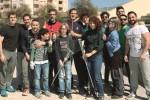 Trapani, 30 volontari puliscono il campo Coni