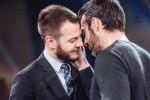 Il bacio tra Cattelan e Luca Argentero: in tv è colpo di scena