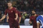 Super Dzeko, tutto facile per la Roma Ancora una sconfitta per l'Empoli