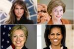 Ambiziose, attive, icone di stile: da Nancy Reagan a Melania Trump, ecco l'America delle first lady