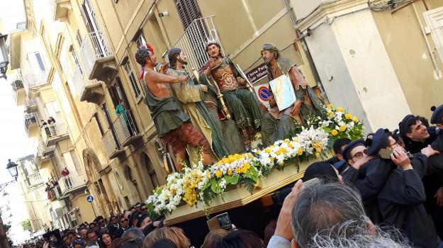 misteri trapani, riti pasquali, vare caltanissetta, Sicilia, Cultura