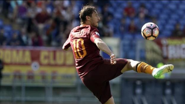 addio, Calcio, roma, Francesco Totti, Sicilia, Sport