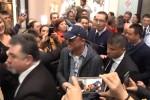 Gigi D'Alessio a Palermo, l'incontro con i fan