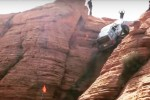 Risale la montagna di quasi 90 gradi: jeep sfida così la forza di gravità