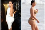 Foto non ritoccata, e sul lato B spunta la cellulite: 100 mila fan voltano le spalle a Kim Kardashian