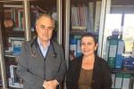 Nicola Sanfilippo e Marina Floresta