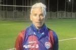 Barraco torna in campo a 53 anni col Cinque Torri Trapani e segna un gol