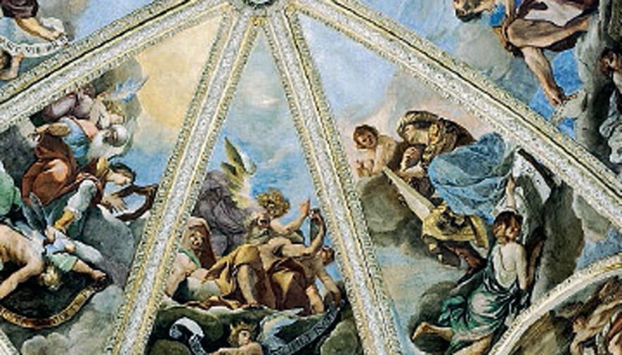Il paradiso da vicino viaggio al duomo di piacenza nell for Piacenza mostra guercino