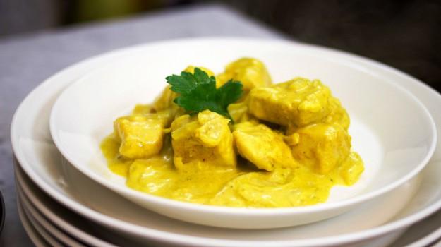 curry, pollo, Sicilia, Società