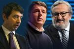 I candidati alla segreteria del Pd