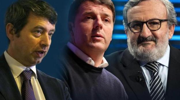 partito democratico, Primarie pd, Andrea Orlando, Matteo Renzi, Michele Emiliano, Sicilia, Politica
