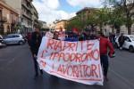 """""""Riaprite l'Ippodromo"""", la protesta dei lavoratori a Palermo"""