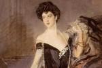 Il ritratto di Franca Florio nelle mani di un palermitano