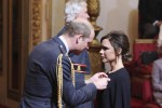 Moda, il principe William premia Victoria Beckham