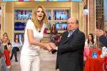 In tv le scuse di Magalli, Adriana Volpe: le accetto, ma solo in parte