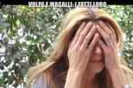 """Adriana Volpe scoppia in lacrime a """"Le Iene"""": """"Magalli deve scusarsi"""""""