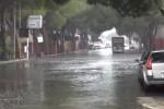 Pioggia strade allagate a Palermo: le immagini da via Ugo la Malfa - Video