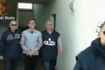 Preso dopo una latitanza di 7 mesi, le immagini dell'arresto del boss Bonaccorsi - Video