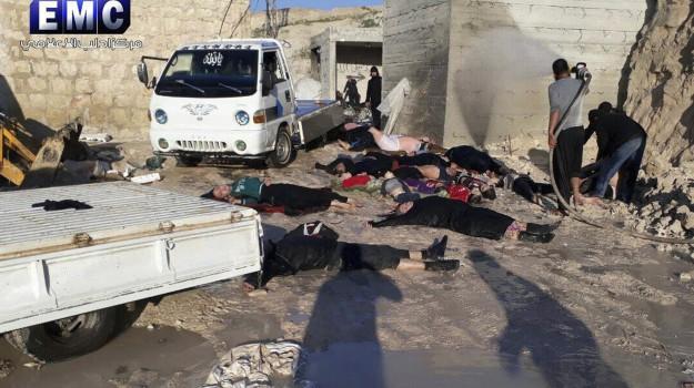 attacco chimico siria, gas sarin, Siria, Sicilia, Mondo