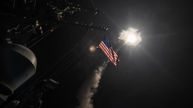 attacco, MISSILI, Siria, USA, Sicilia, Mondo