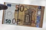 In circolazione la nuova banconota da 50 euro: biglietto più sicuro