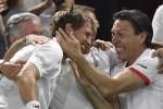 Davis Cup, l'Italia non molla: vittoria in doppio, Belgio sul 2-1
