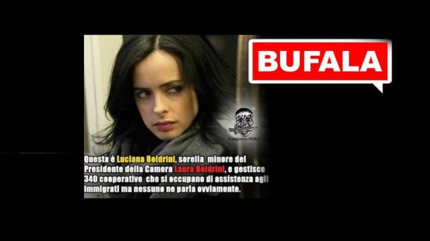 fake news, sorella boldrini, Laura Boldrini, Sicilia, Politica