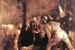 «Il seppellimento di Santa Lucia» di Caravaggio