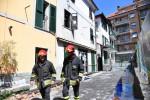 Espianto degli organi per il bimbo lanciato dalla finestra della casa in fiamme