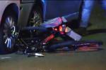 Ucciso da un'auto mentre era in bici, le immagini del tragico incidente invia Messina Marine