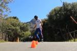 Tutti a piedi, in bici o sui pattini: le immagini dalla Favorita senza auto per un giorno