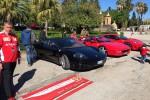 Invasione rossa a Villa Niscemi, alla Favorita sfilano le Ferrari - Foto